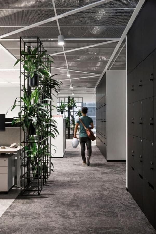 văn phòng làm việc không gian xanh - Crystal Design TPL