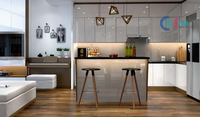 Kích thước tiêu chuẩn của đồ nội thất phòng bếp - Crystal Design TPL