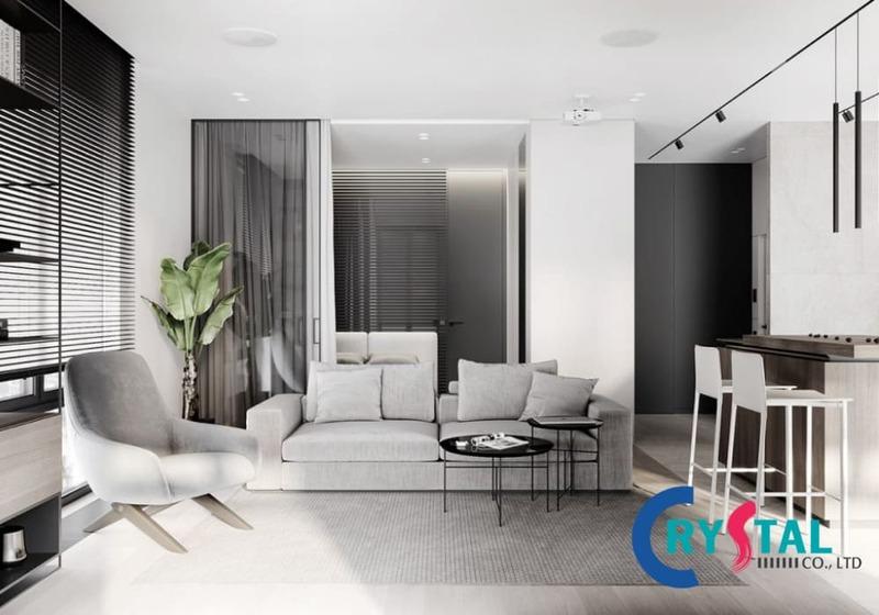 Thế nào là phong cách nội thất đương đại - Crystal Design TPL
