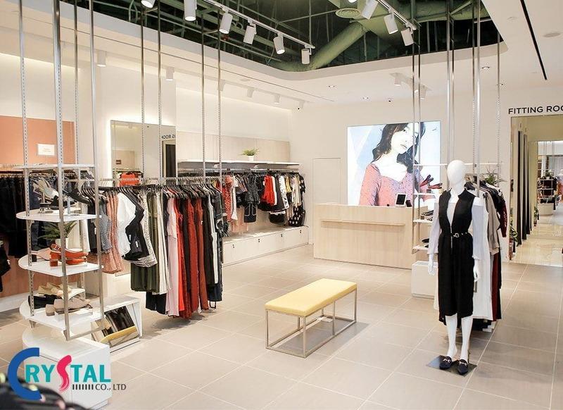 bảng giá thiết kế shop thời trang mới nhất - Crystal Design TPL