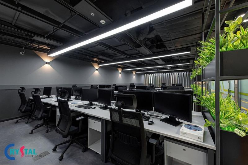 báo giá thi công nội thất văn phòng - Crystal Design TPL