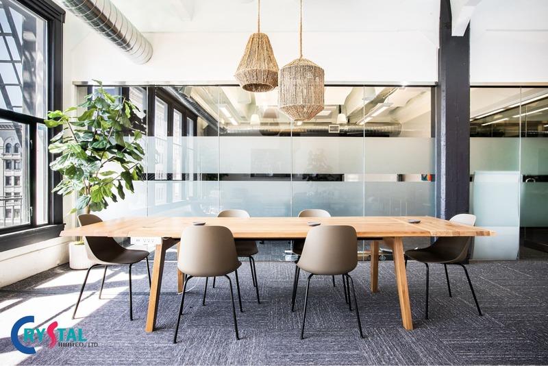 báo giá thiết kế nội thất văn phòng chi tiết - Crystal Design TPL