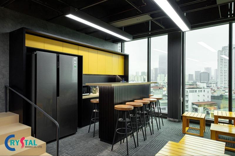 báo giá thiết kế nội thất văn phòng - Crystal Design TPL
