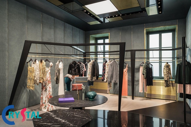 báo giá thiết kế shop thời trang - Crystal Design TPL