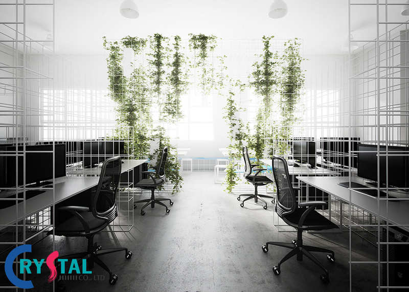 bố trí bàn làm việc - Crystal Design TPL