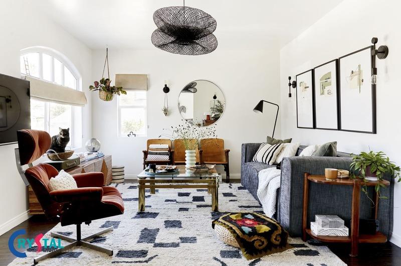 các loại phong cách thiết kế nội thất - Crystal Design TPL