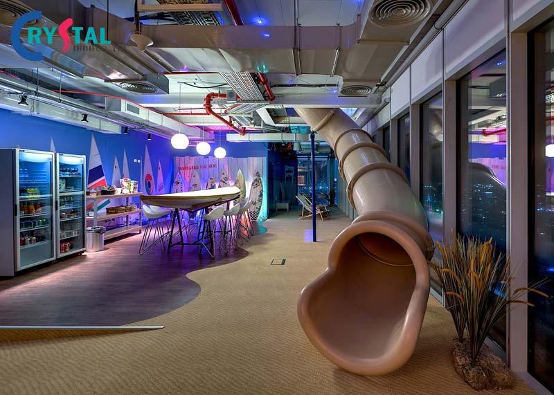 các mẫu nội thất văn phòng hiện đại