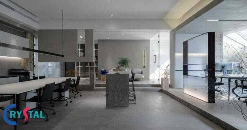 các mẫu thiết kế nội thất văn phòng công ty - Crystal Design TPL