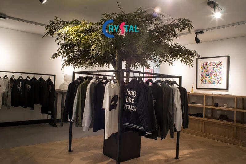 các mẫu thiết kế shop quần áo nam đẹp - Crystal Design TPL
