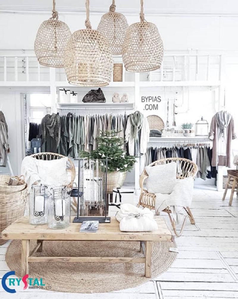 các mẫu thiết kế shop thời trang - Crystal Design TPL
