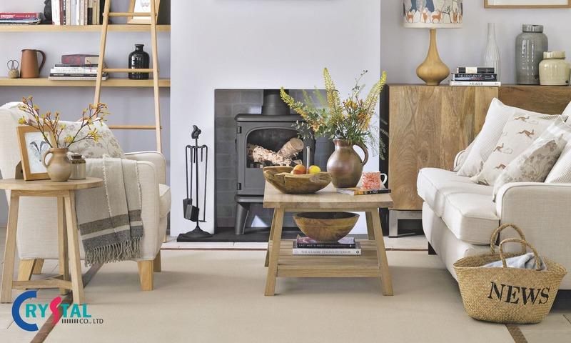 các phong cách thiết kế nội thất nổi tiếng - Crystal Design TPL