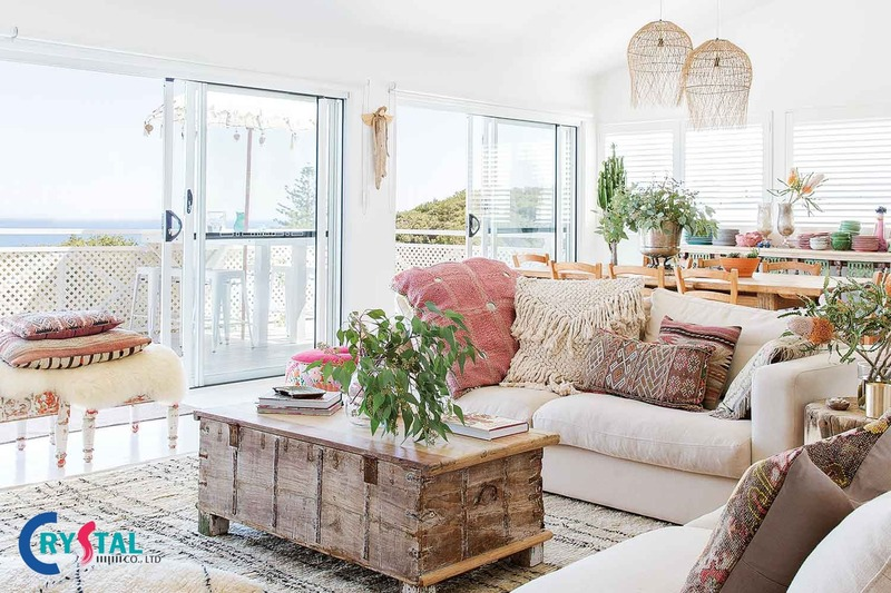 các phong cách thiết kế nội thất phổ biến - Crystal Design TPL