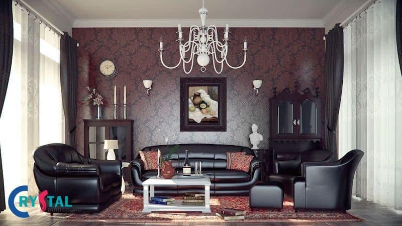 các phong cách thiết kế nội thất trên thế giới - Crystal Design TPL