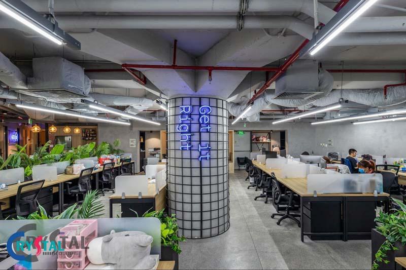 các phong cách thiết kế nội thất văn phòng - Crystal Design TPL