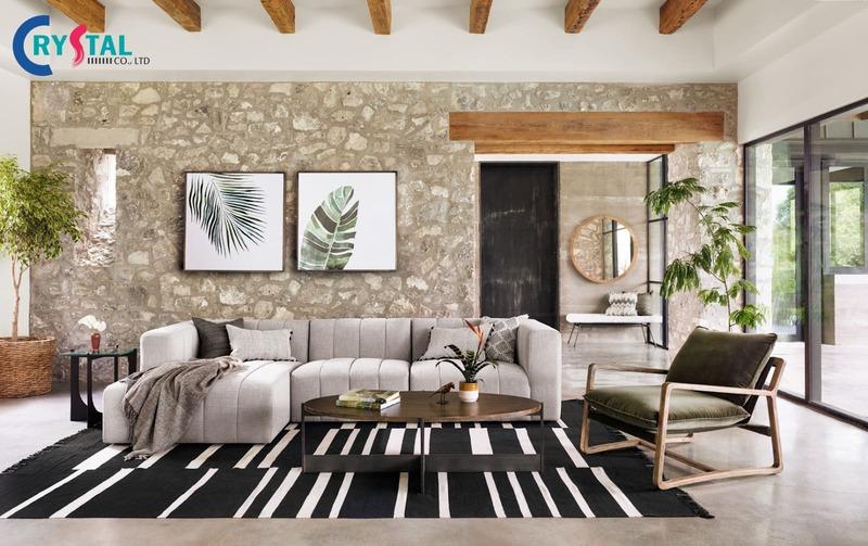 các phong cách thiết kế nội thất - Crystal Design TPL