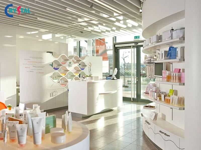 các phong cách thiết kế showroom - Crystal Design TPL