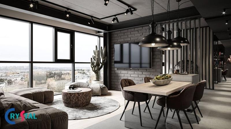 các phong cách trong thiết kế nội thất - Crystal Design TPL