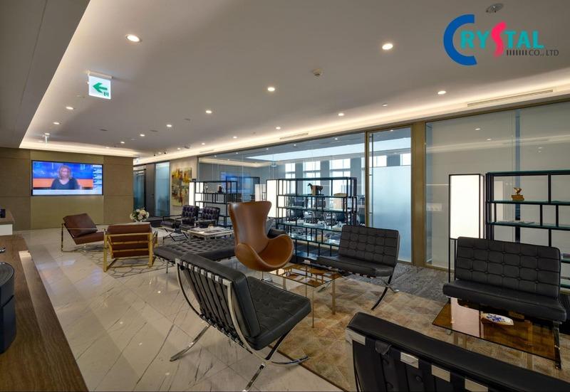 các thiết kế văn phòng xanh đẹp - Crystal Design TPL