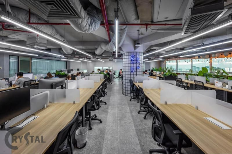 các tiêu chí thiết kế văn phòng làm việc - Crystal Design TPL