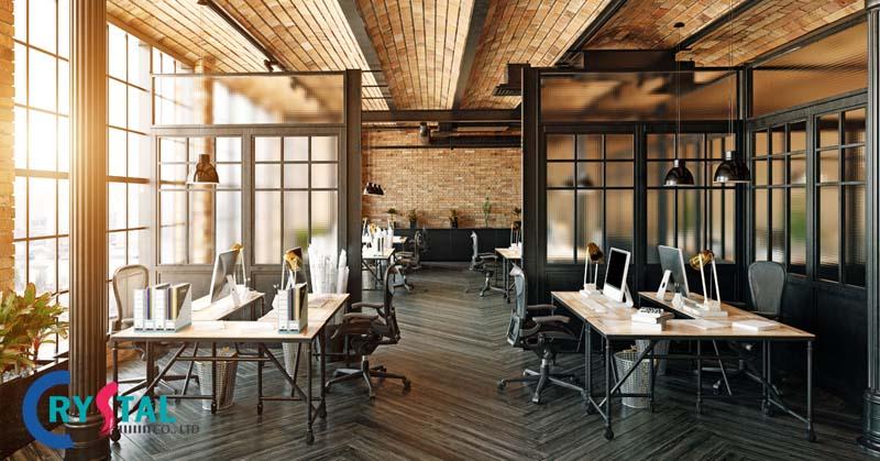 các xu hướng thiết kế văn phòng mới nhất - Crystal Design TPL