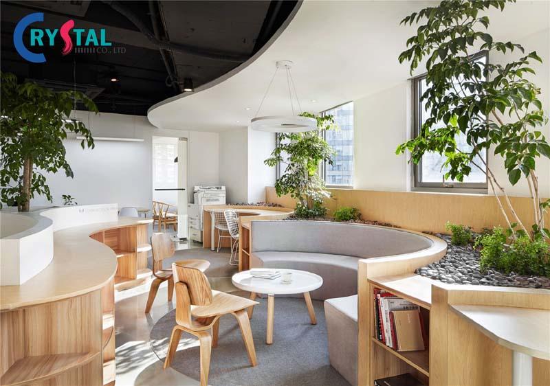 các ý tưởng thiết kế không gian văn phòng