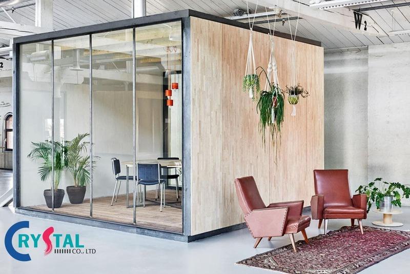 cách bố trí phòng làm việc - Crystal Design TPL