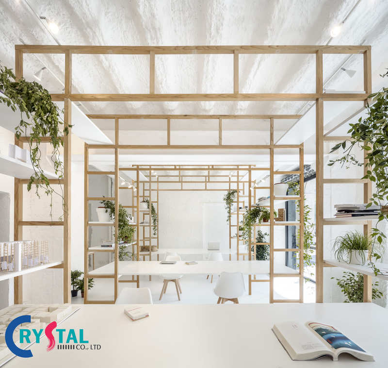cách bố trí văn phòng - Crystal Design TPL