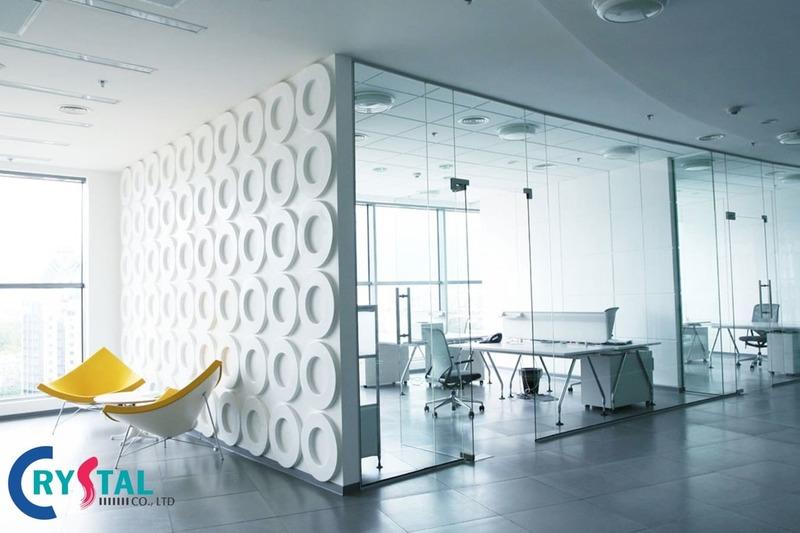 cách trang trí phòng làm việc - Crystal Design TPL