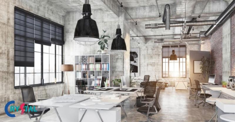 chi phí thiết kế văn phòng - Crystal Design TPL