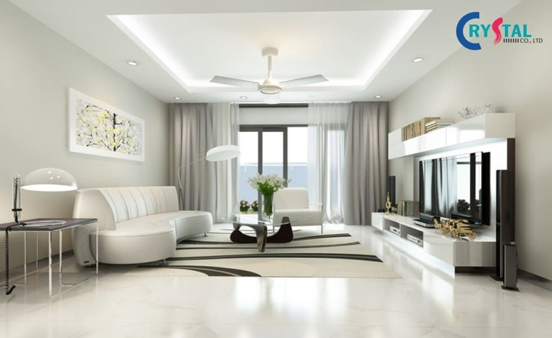 chuyên thiết kế nội thất chung cư - Crystal Design TPL