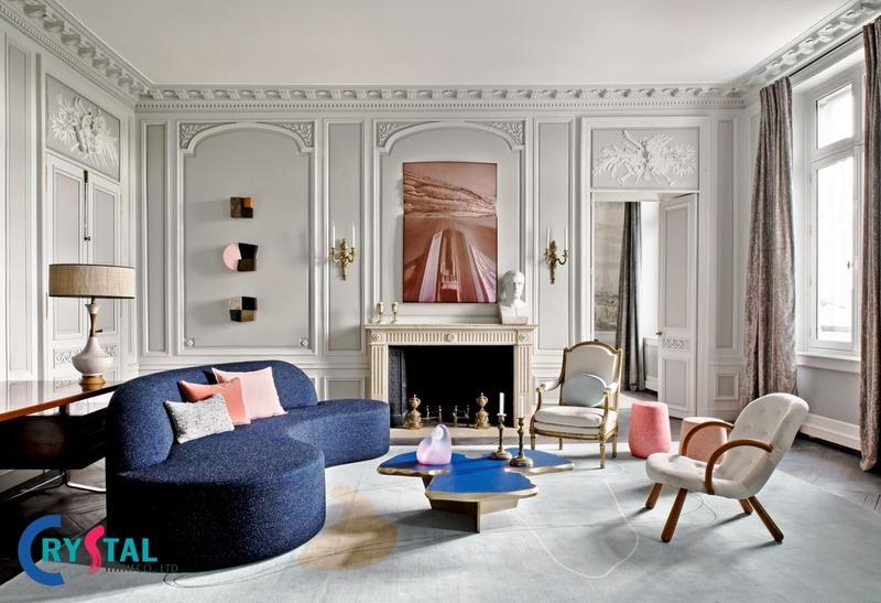 có bao nhiêu phong cách thiết kế nội thất - Crystal Design TPL