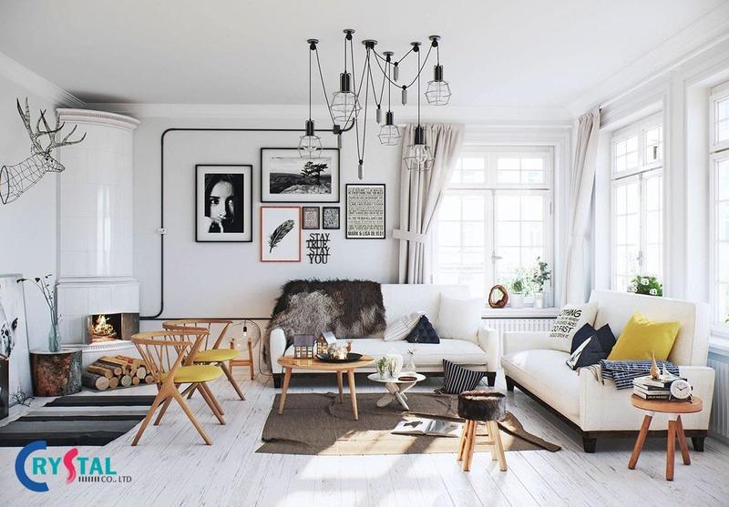 có những phong cách thiết kế nội thất nào - Crystal Design TPL