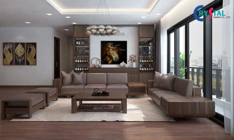 công ty thi công nội thất hcm - Crystal Design TPL