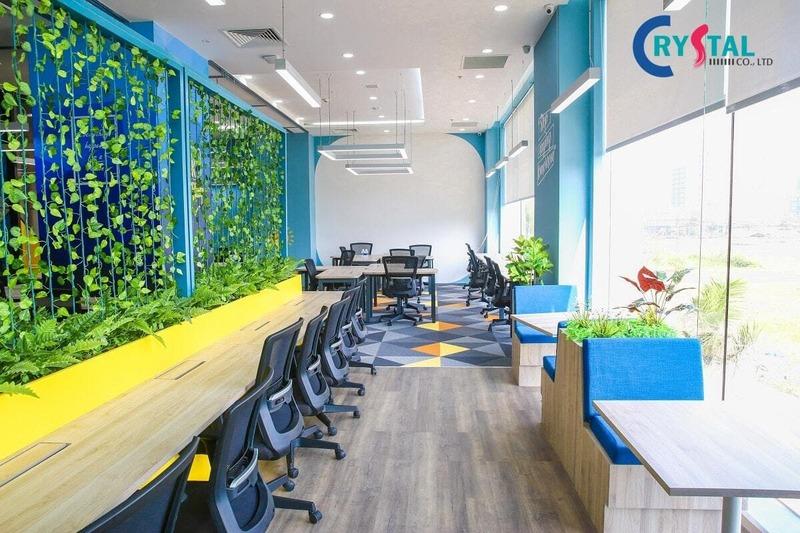 công ty thiết kế nội thất văn phòng tại tphcm - Crystal Design TPL
