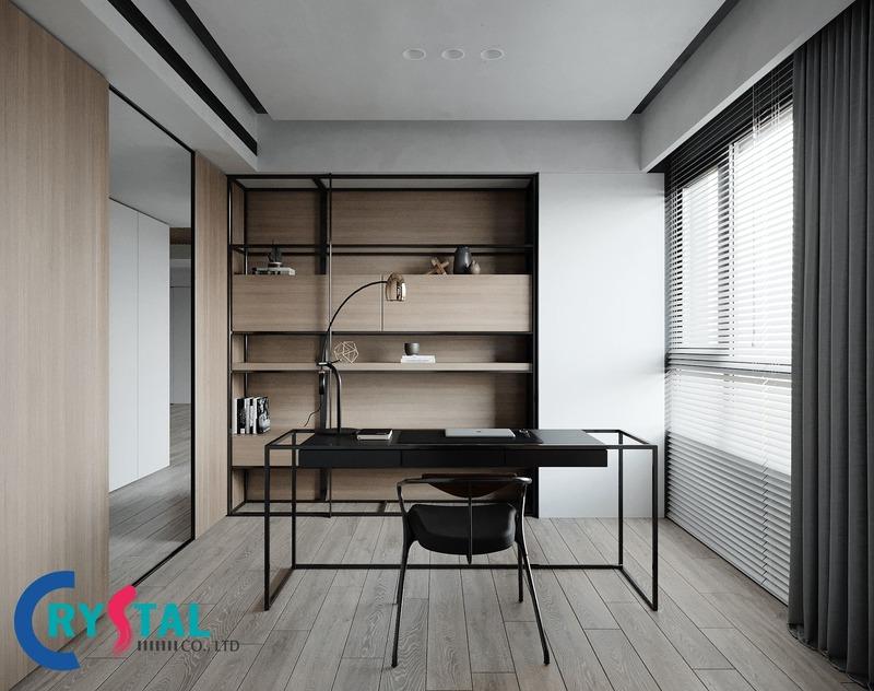 công ty thiết kế nội thất văn phòng tphcm - Crystal Design TPL