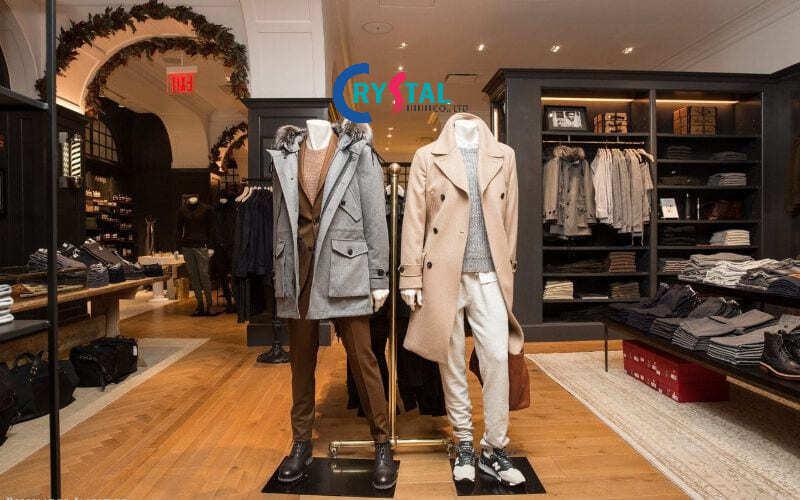 cửa hàng thời trang nam đẹp - Crystal Design TPL