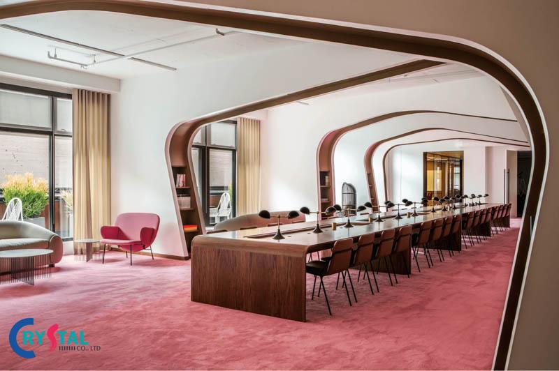 decor văn phòng - Crystal Design TPL
