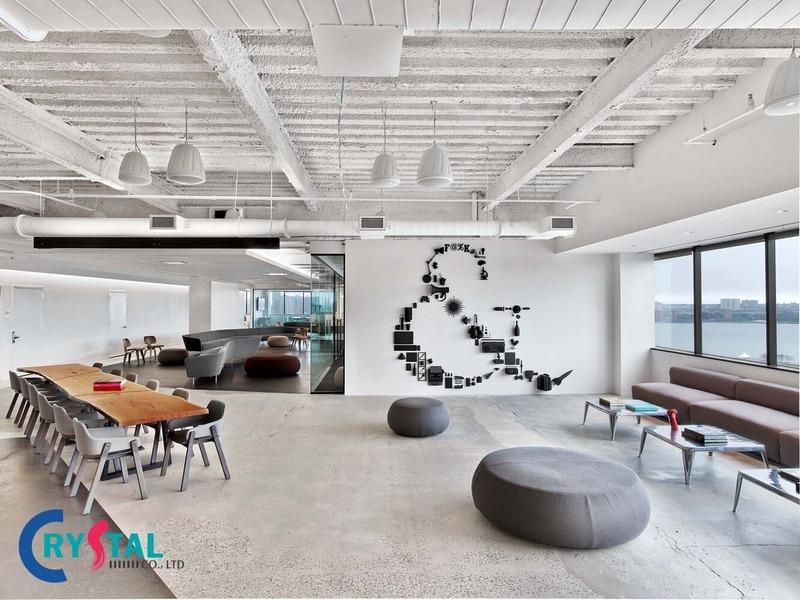 dịch vụ thiết kế văn phòng tại tphcm - Crystal Design TPL