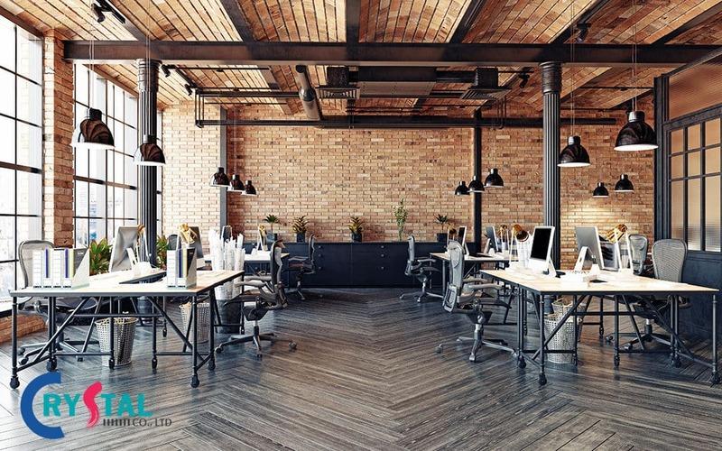 dịch vụ thiết kế văn phòng tphcm - Crystal Design TPL