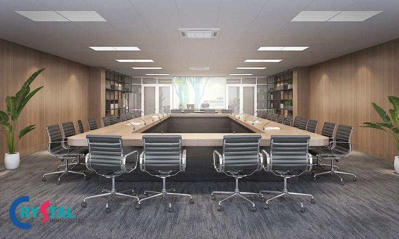 diện tích phòng họp - Crystal Design TPL
