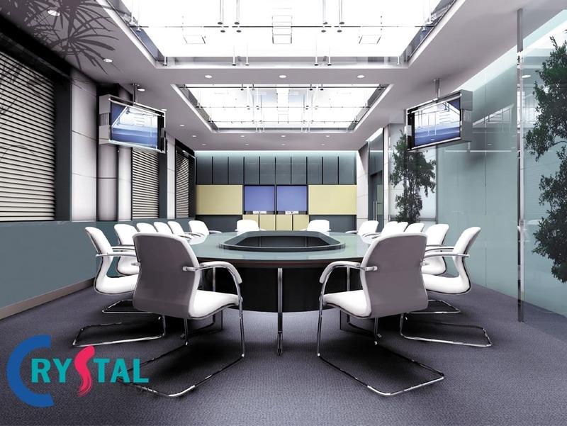 diện tích thiết kế phòng họp hợp lý - Crystal Design TPL