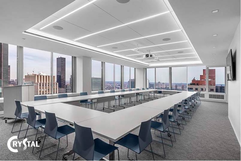diện tích thiết kế phòng họp - Crystal Design TPL