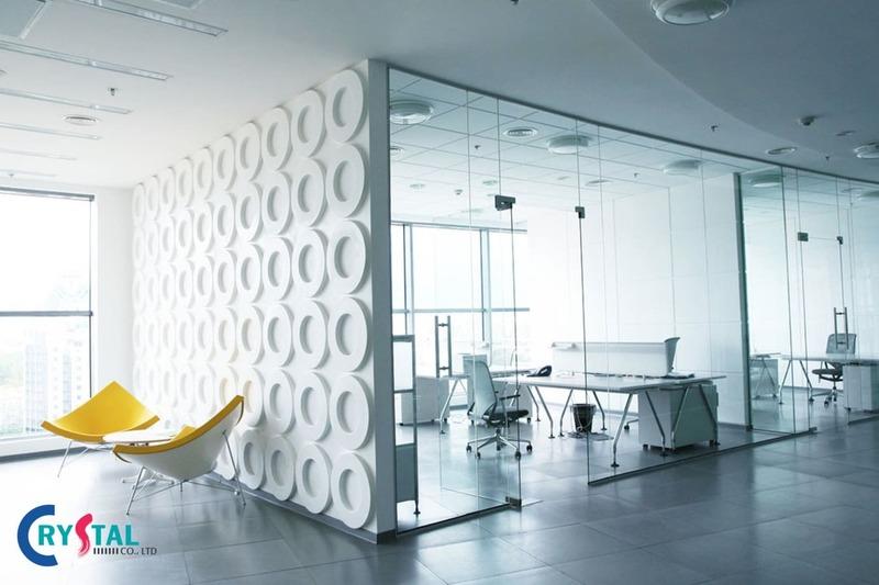 đơn giá thiết kế văn phòng - Crystal Design TPL