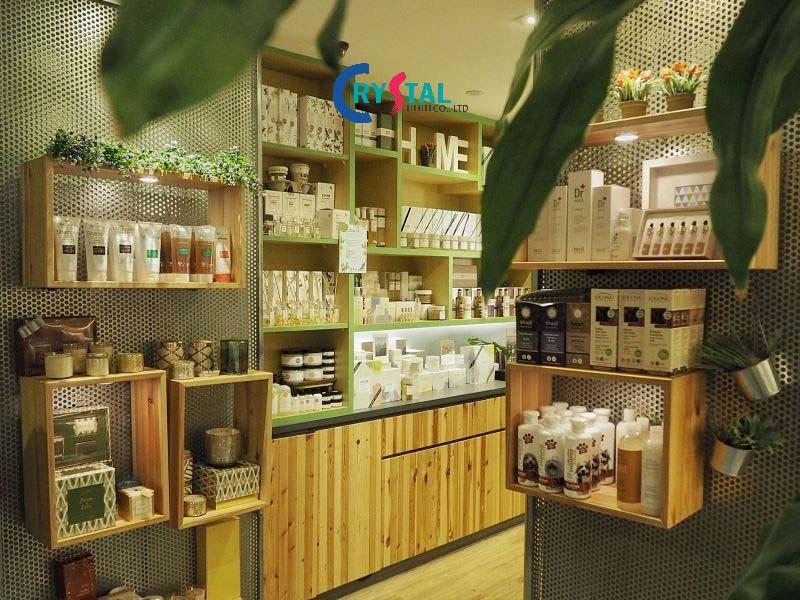 dự án thiết kế showroom shop - Crystal Design TPL