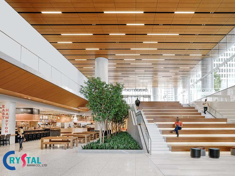 khái niệm thiết kế văn phòng xanh - Crystal Design TPL