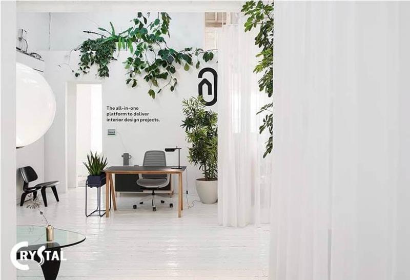khái niệm văn phòng xanh - Crystal Design TPL