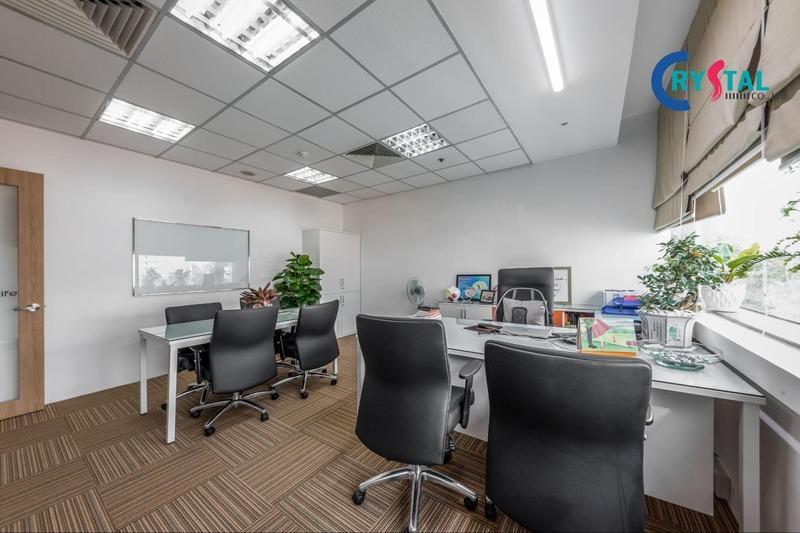 không gian làm việc chung - Crystal Design TPL