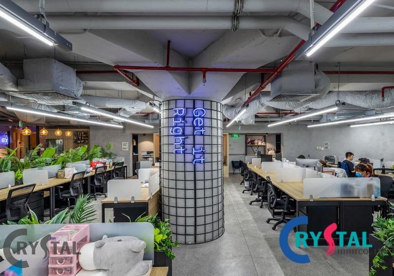 không gian mở trong kiến trúc - Crystal Design TPL