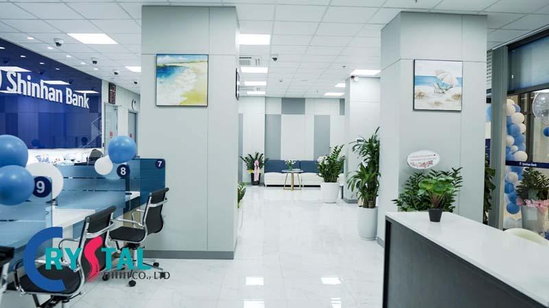 không gian văn phòng 100m2 xanh