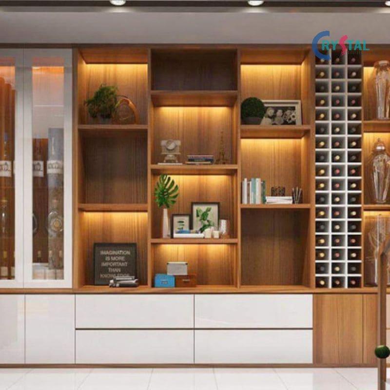 kích thước nội thất phòng khách - Crystal Design TPL